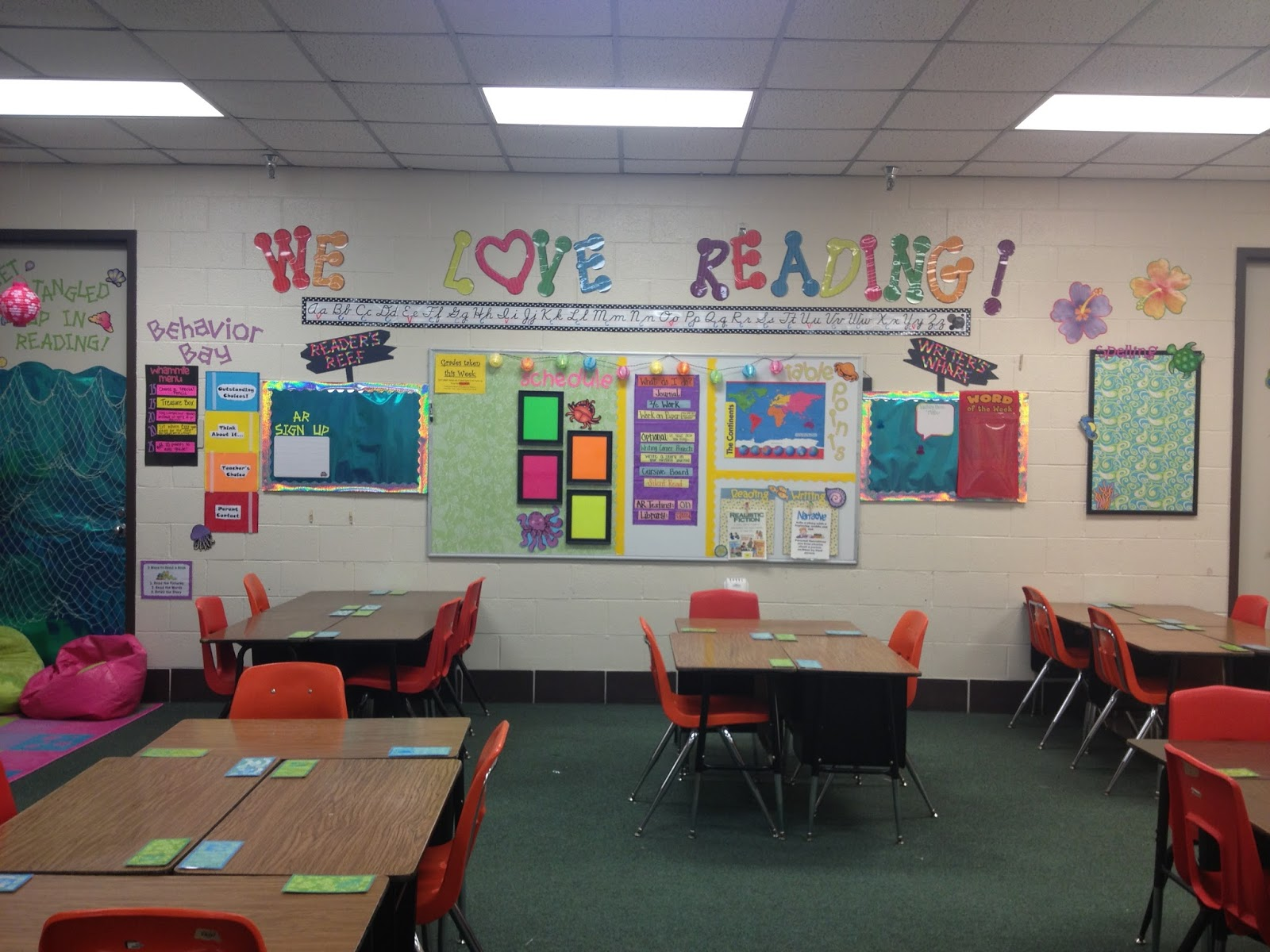 Classroom Ideas Second Grade ~ Teel s treats third grade is oceans of fun