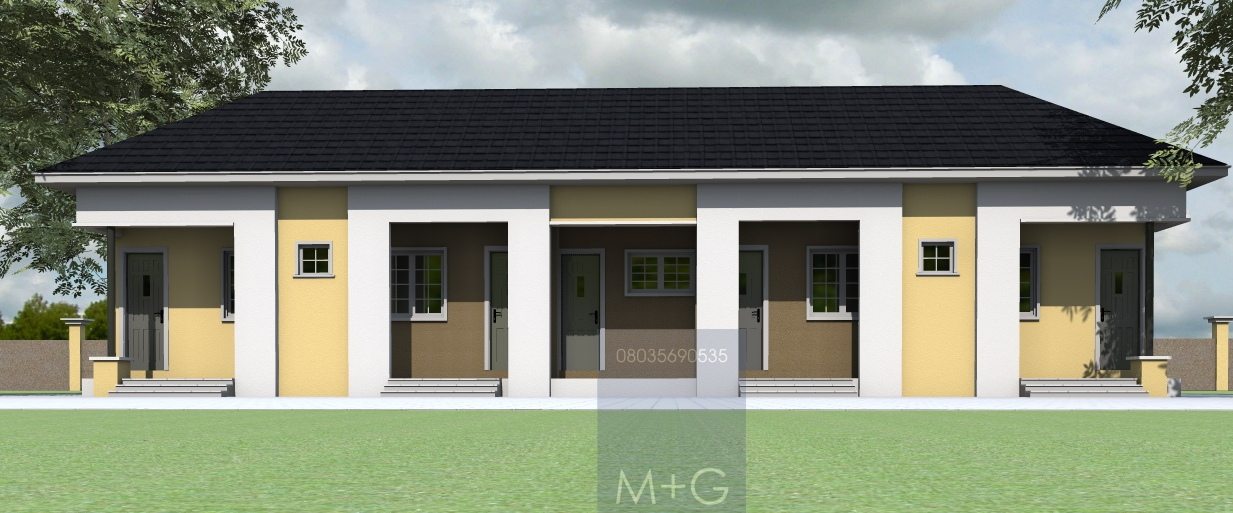 Contemporary Nigerian Residential Architecture: 4 Bedroom ...