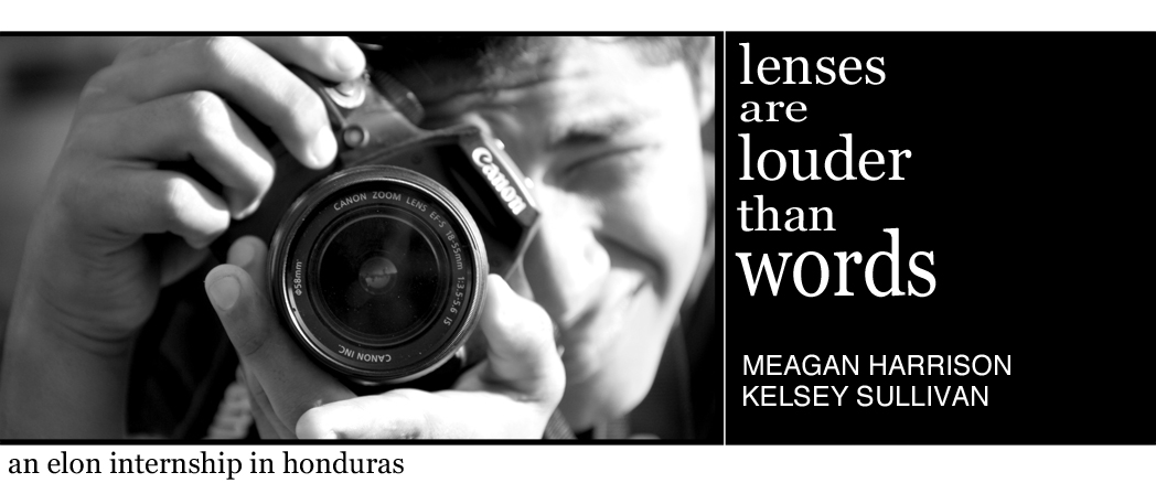 Lenses are louder than words