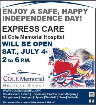 7-4 Express Care Will Be Open
