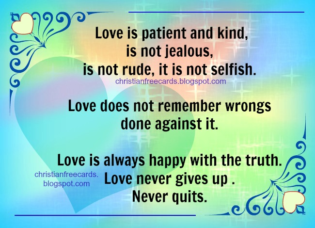 Free Christian card Enjoy this love. Free image for christian facebook friends, happy valentine, free cards.