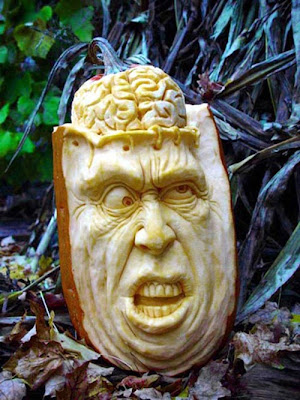 Scary Halloween Pumpkin Carvings by Ray Villafane Seen On www.coolpicturegallery.us