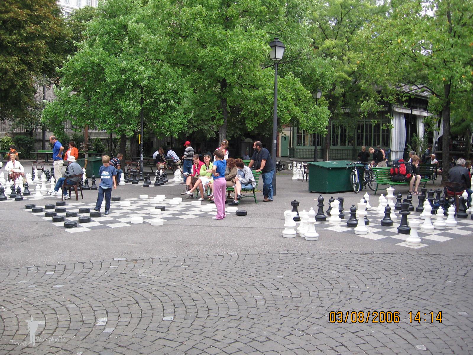 Sah in Parc des Bastions