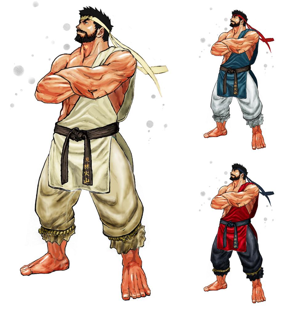 Ryu Street Fighter 5 Beard
