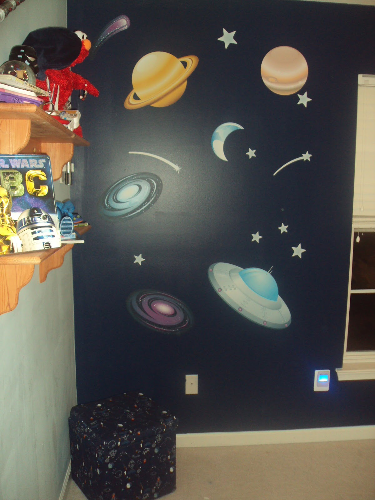 fathead outer space wall graphic collection wall graphics for when we first opened up the wall graphic sheet lt was so proud the decals were all great sizes and the colors were vibrant and varying