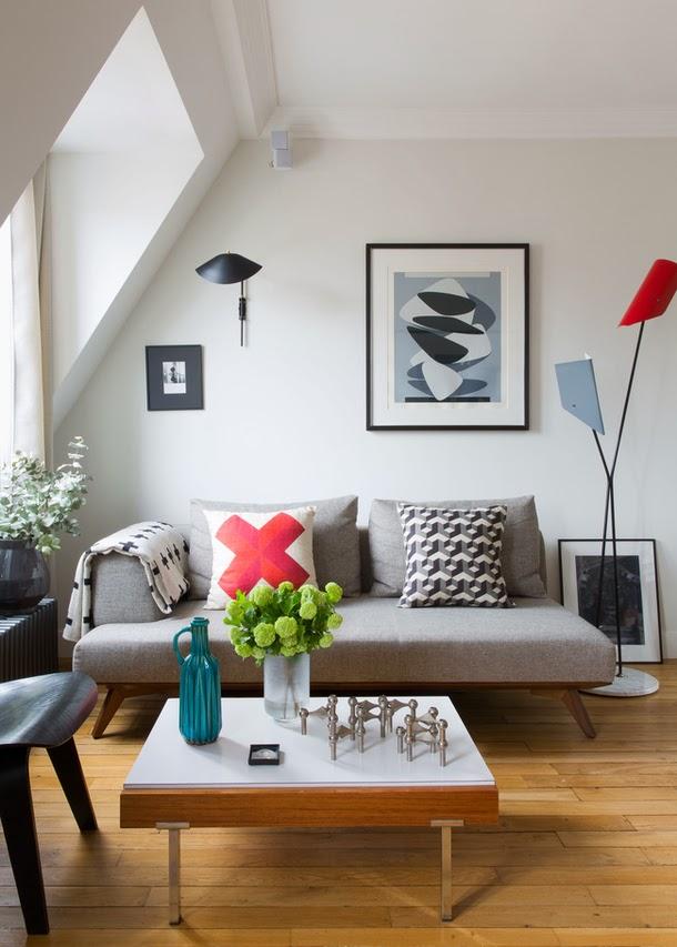Retro Apartment In Paris Daily Dream Decor