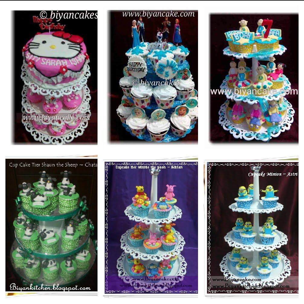 cake & cupcake tier