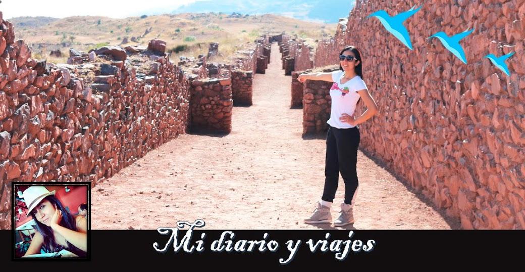 Mi diario y viajes