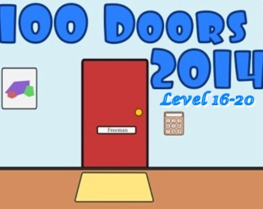Game 100 Doors 2014 Level 16 17 18 19 20