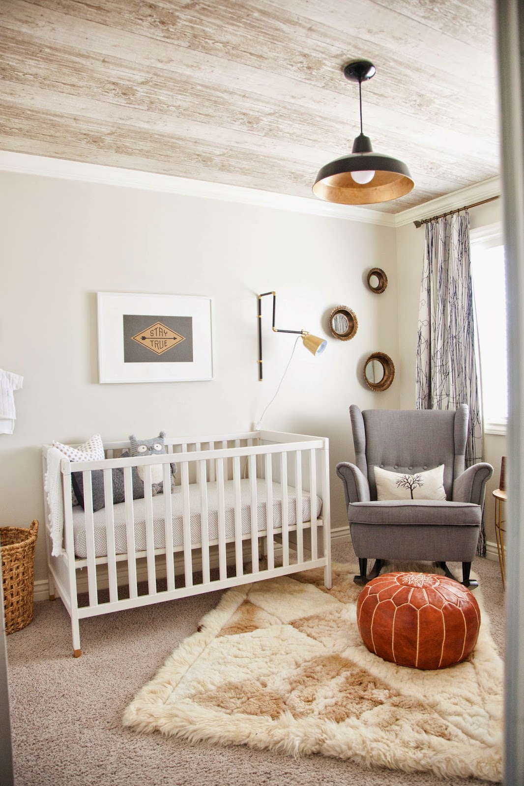 Design Dump Neutral Masculine Nursery Reveal