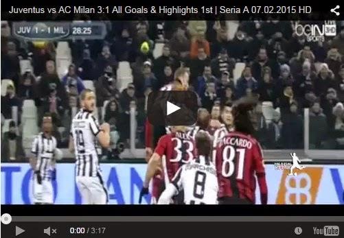Highlights : Juventus 3-1 AC Milan