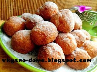 Творожные пончики-шарики