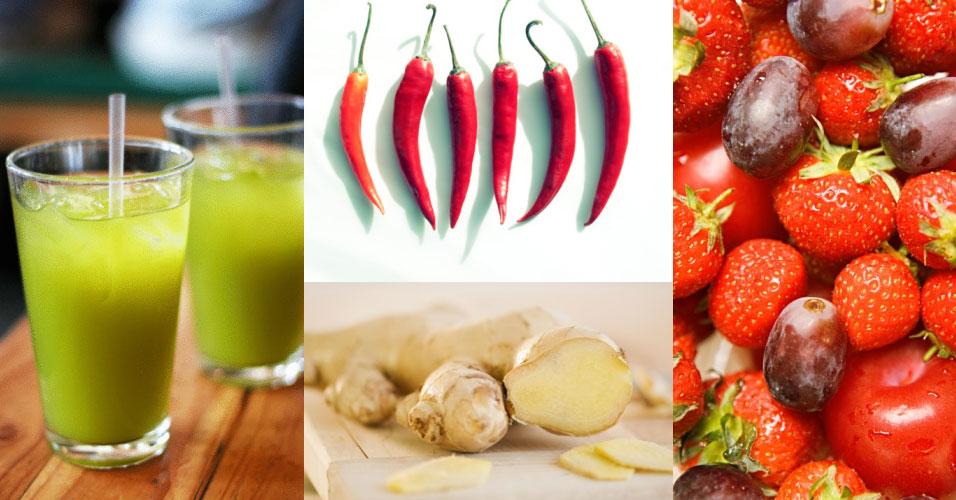 Quais são alimentos antiflamatórios