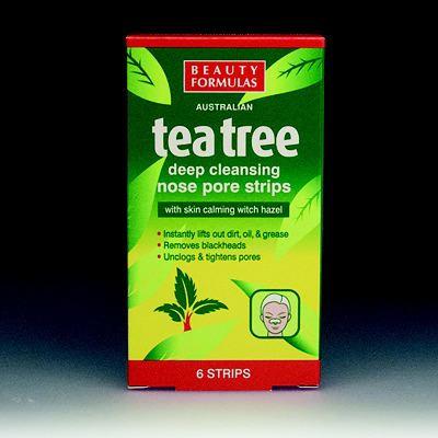 Tea Tree Nose Pore Strips