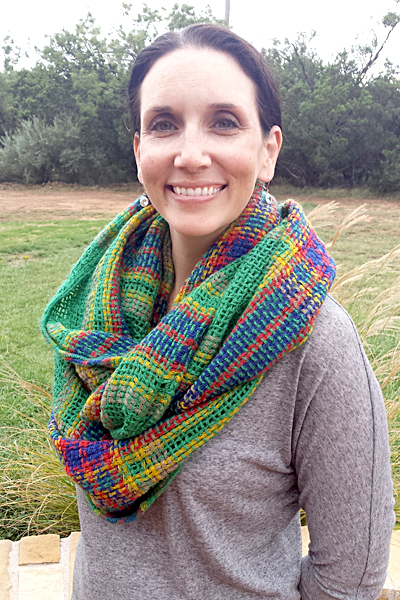 Octavia Coleman Weave Plaid Infinity Scarf Stitch Fix