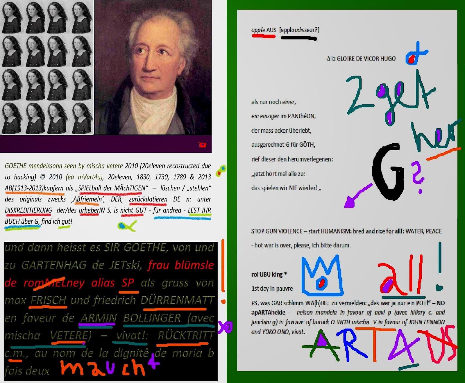 applause poème POUR la SOLIDARITÉ à l' honneur de G AVEC mendelssohn by mischa vetere 2013