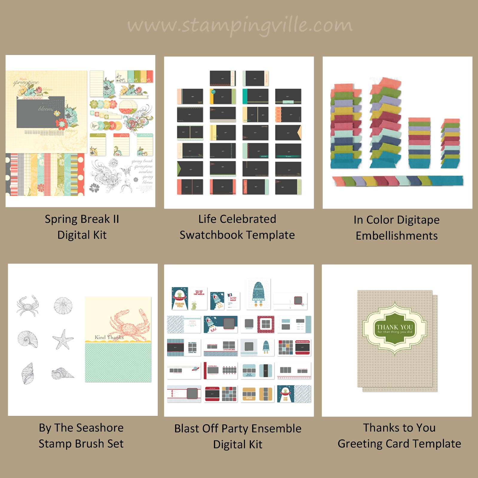 Digital Downloads from Stampin' Up! released June 19, 2012