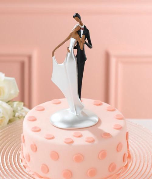 Wedding Cake Toppers Black Man White Woman Spirit Of Paris Romancing Past Present