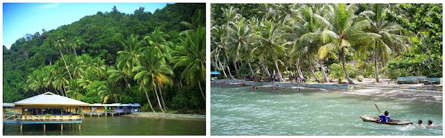 Dermaga Biru (Pantai Derbi) - Wisata Pulau Bacan (Halmahera Selatan)