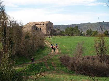 El Vilar vista des del camí de la font del mateix nom