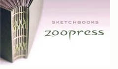 Só usamos sketchbooks Zoopress