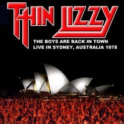 Thin Lizzy - 'The Boys are Back in Town - Live in Sydney, AU 1978' CD Review (IMV Blueline)