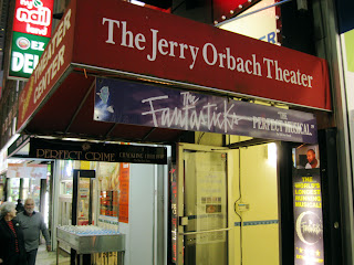 The new home of the Old New York production of the Fantasticks is the Jerry Orbach Theater