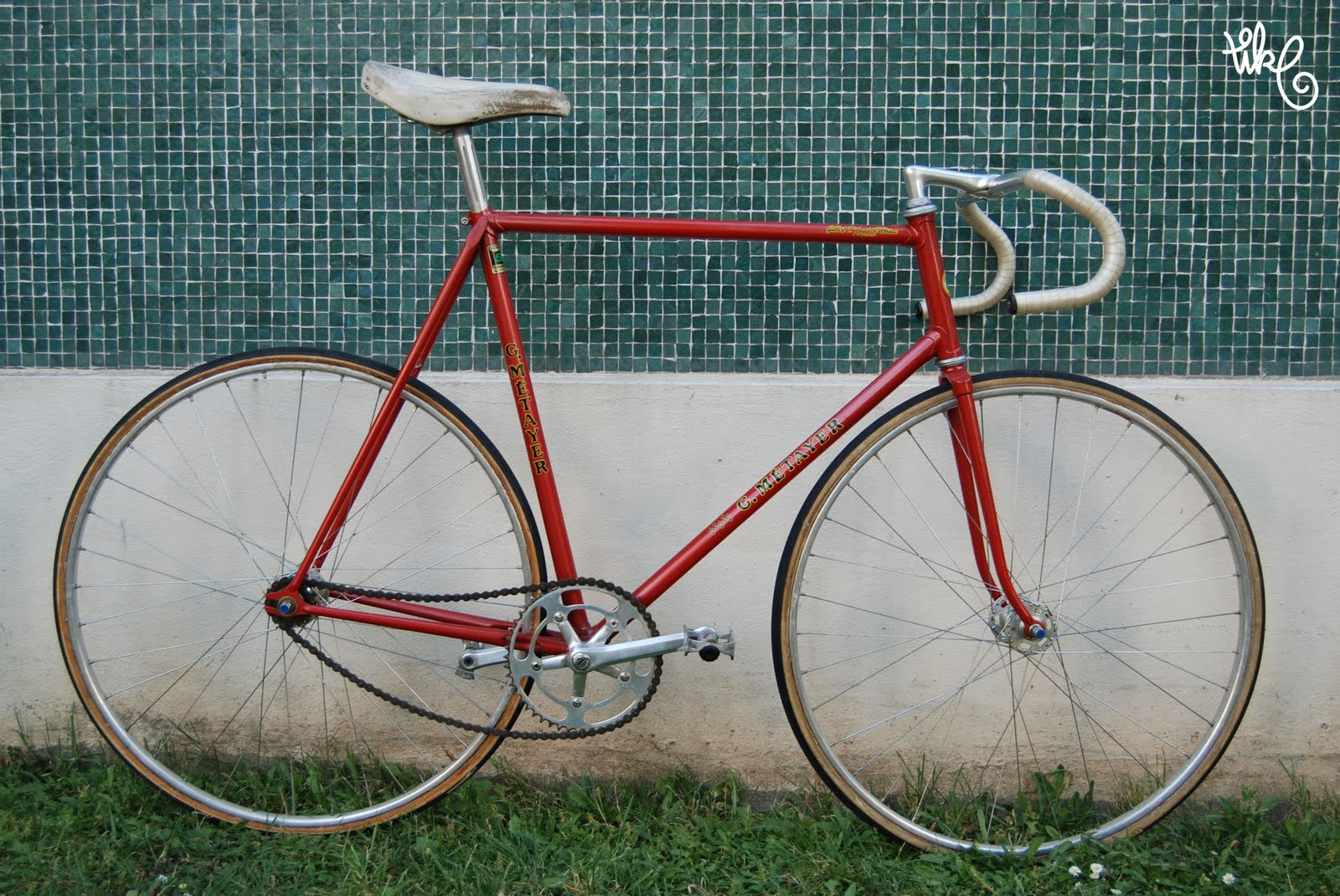 Tike Sales Track Bike Gitane Mexico In Reynolds 531 Rebadged G