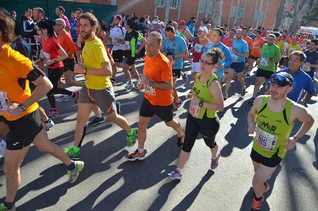 mi año de media maraton