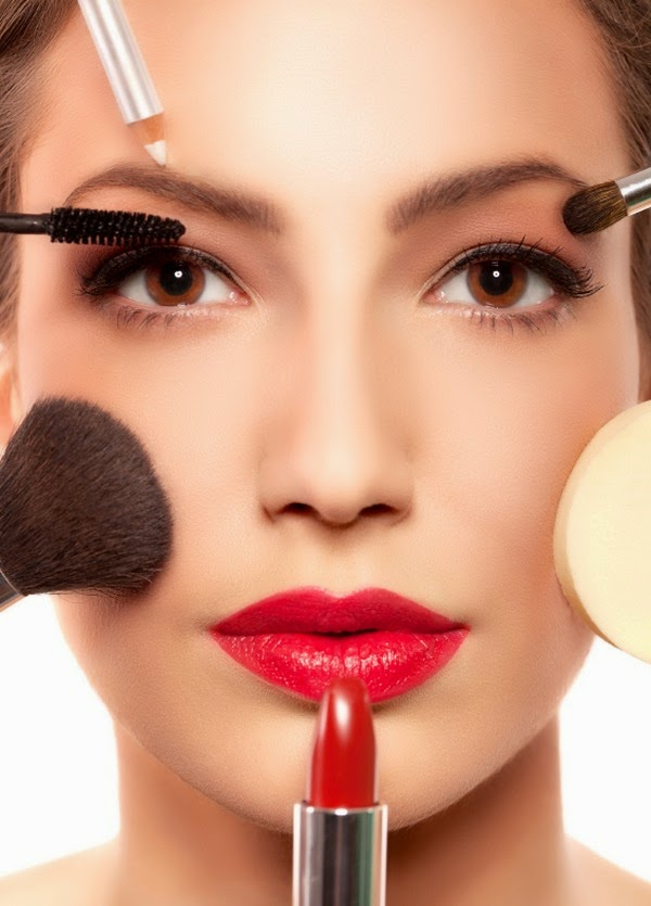 Beauty tricks to look thin and slim face best makeup eyebrows eye shadows lips best hair