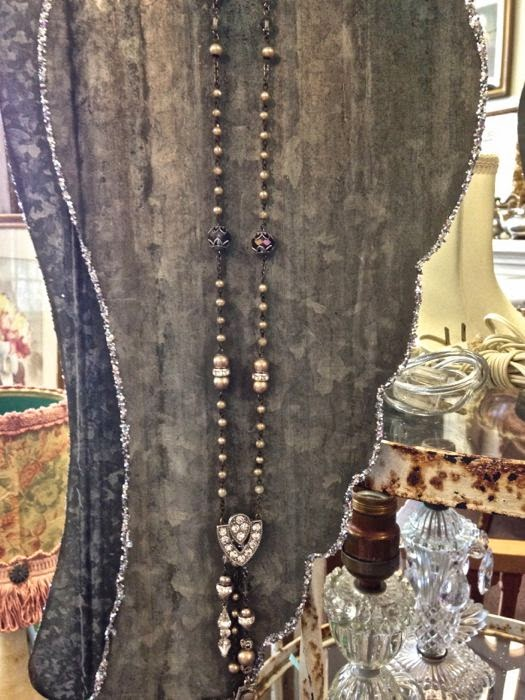 Religious charm necklace by  The Pickled Hutch