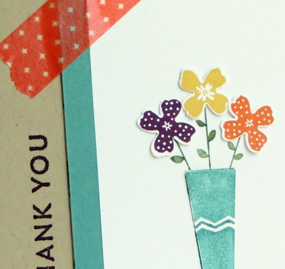 Stampin' Up! Pictogram Punches Card Close-Up
