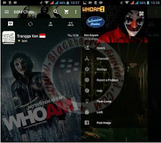 BBM Who Am I Themes New Versi 2.11.0.16 Clone
