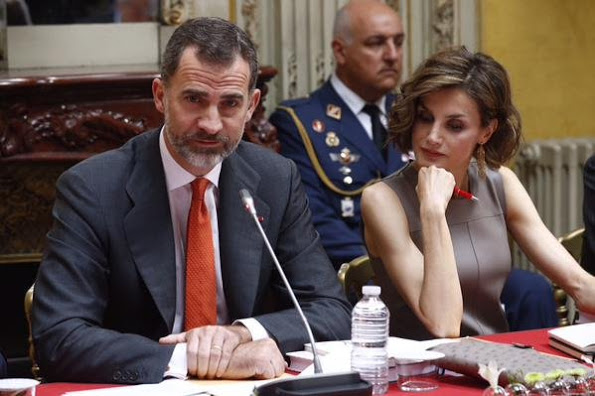 King Felipe And Queen Letizia's Official Visit To France, Day 3