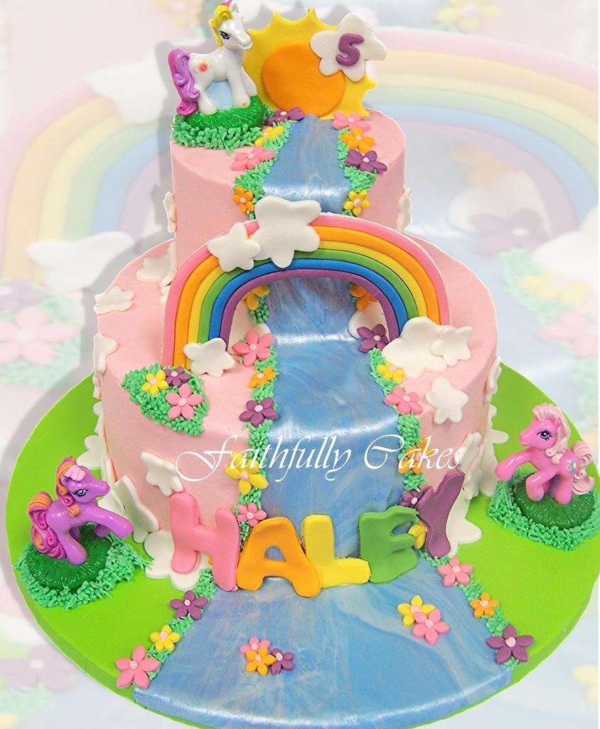 G Eous My Little Pony Birthday Cakes