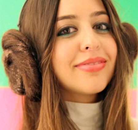 Share Good Stuffs Princess Leias Hairstyle Headphone Covers