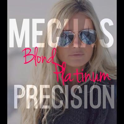 Mechas blond platinum precision