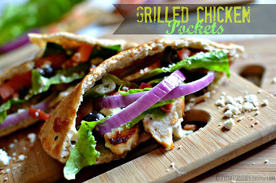 #GrilledandReady Chicken Pocket #Recipe #Cbias