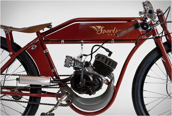 SPORTSMAN-FLYER - MOTORIZED-BICYCLES-Engine