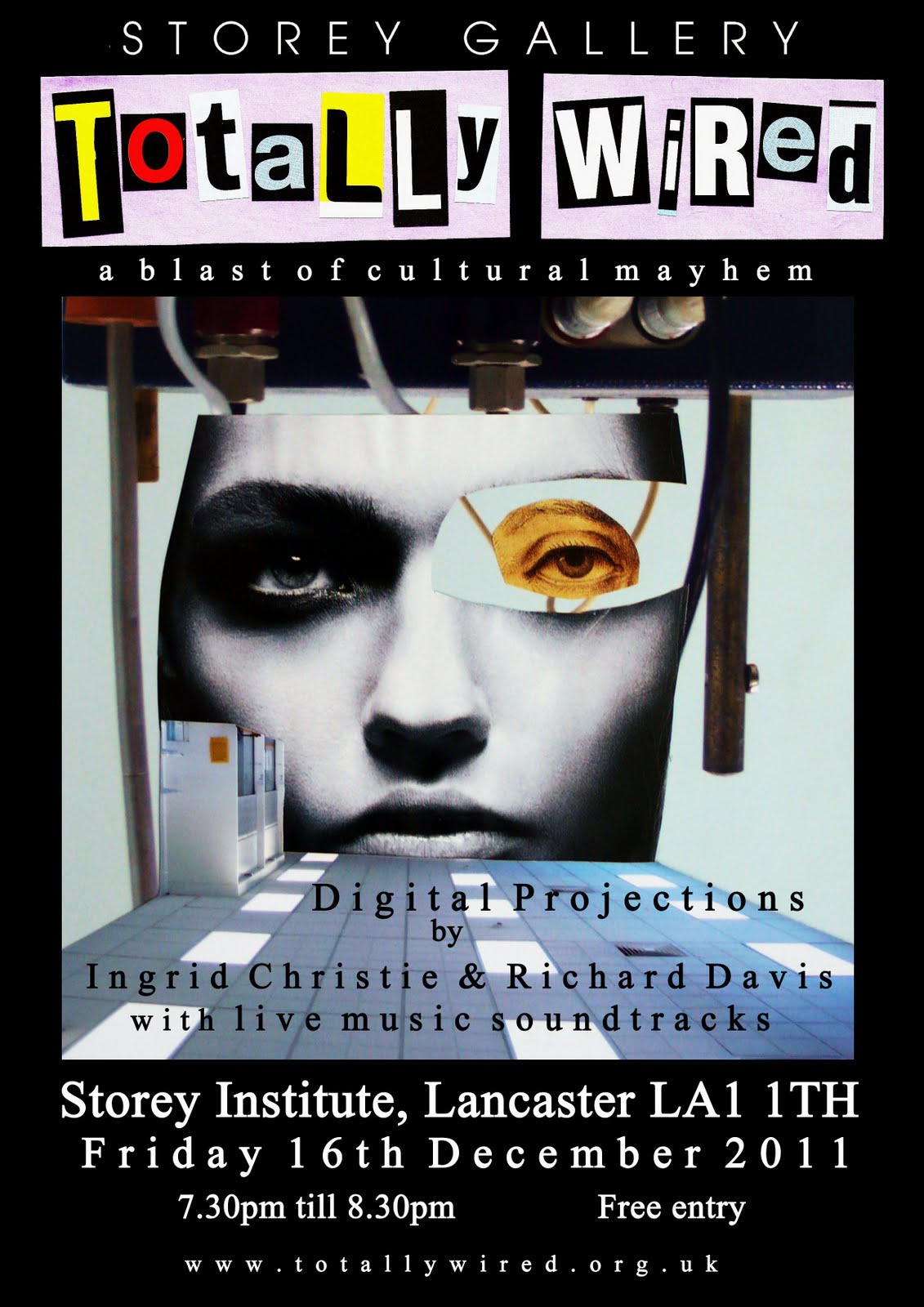 TOTALLY WIRED @the Storey Gallery, Lancaster on Friday 16th December 2011, ...