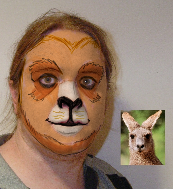 Monkey Makeup Ideas - All Halloween - photo#31