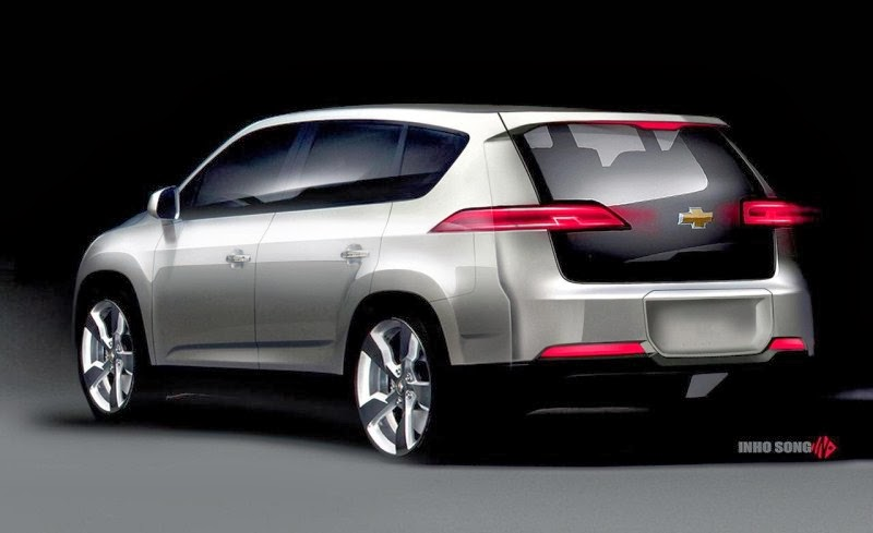 2014 Chevrolet Volt Mpv5 Electric Concept