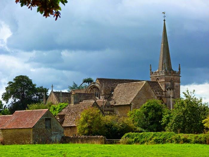 St Cyriac's, church, Lacock, Wiltshire