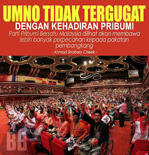 Musuh Parti Pribumi Adalah UMNO Dan PAS