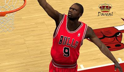 NBA 2K13 Luol Deng Cyber Face Mods