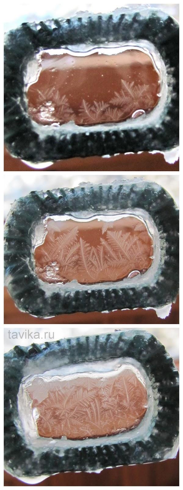 замерзшие мыльные пузыри