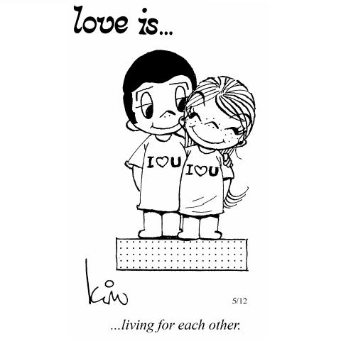 44 Amazing 'Love Is' Comics by Kim Grove   the perfect line