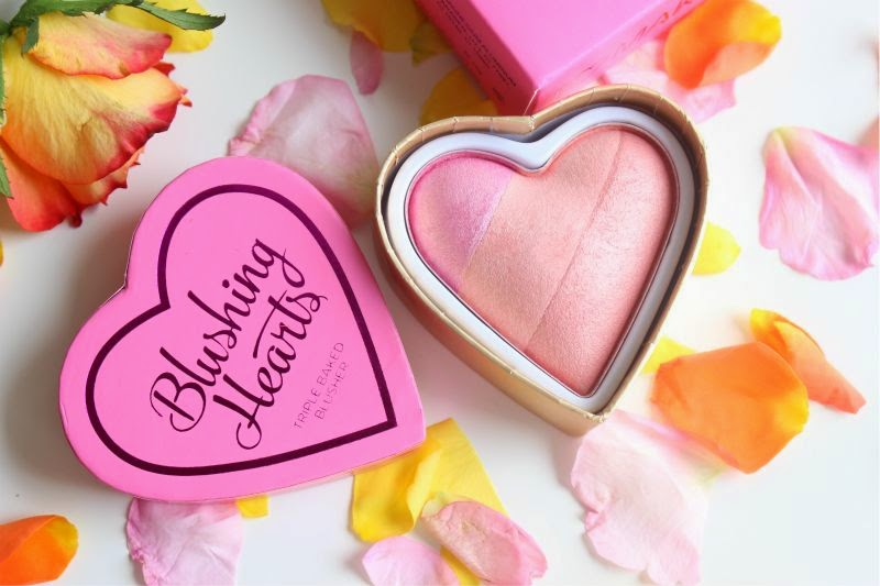 I Heart Make Up Blushing Hearts Triple Baked Blush in Candy Queen of Hearts