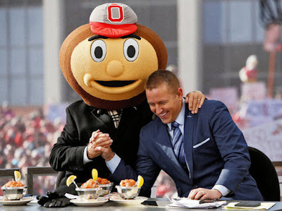 ESPN to air special edition of College GameDay before Ohio St.-Virginia Tech game, but without Herbstreit and Corso.