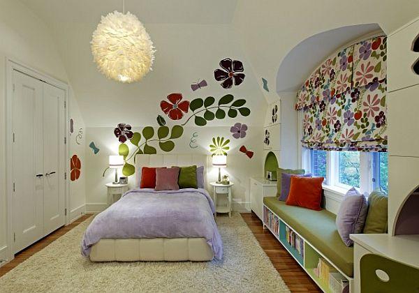 дизайн комнаты спальни для девочки подростка фото